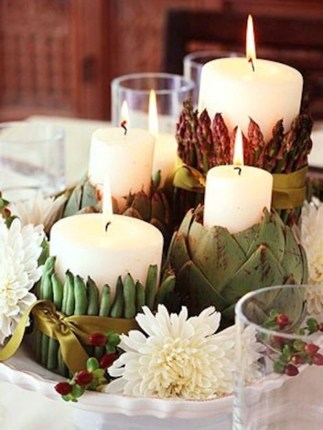screenshot Thanksgiving candle asparagus